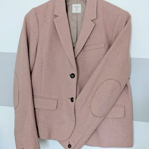 Gap Academy Blazer Pink Herringbone Size 12